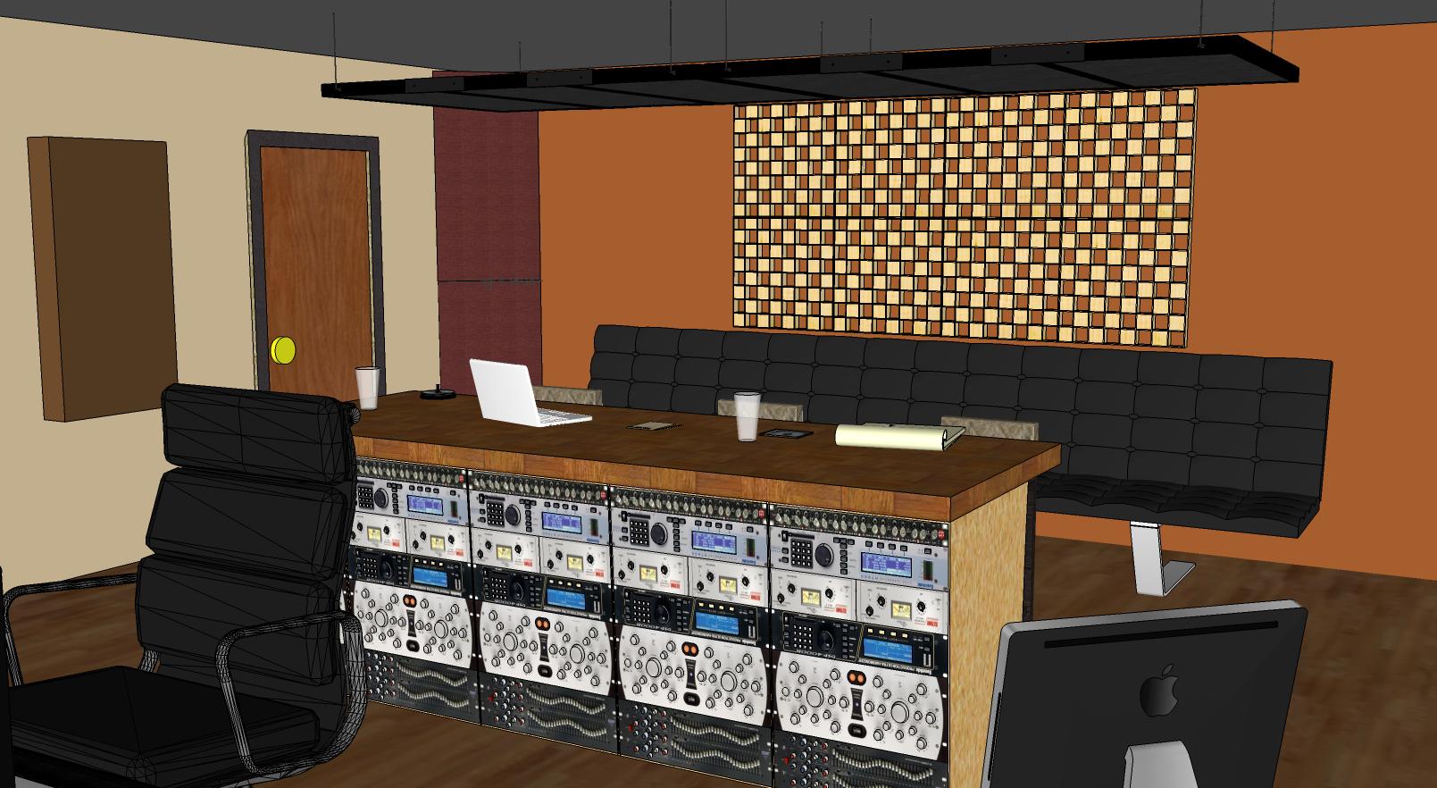 Recording studio joy studio design gallery best design for Small recording studio plans